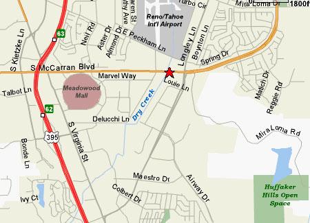 Go Karts Reno >> Meet Location Maps - Subaru Enthusiasts Car Club of the ...